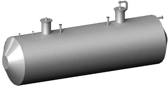 резервуары стальные горизонтальные для нефтепродуктов